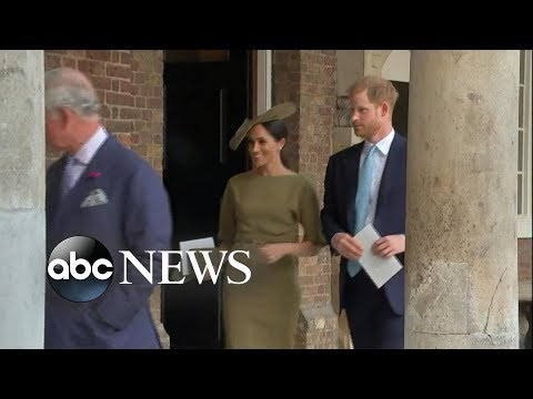Prince Harry and Meghan Markle embark on 1st foreign trip since the wedding