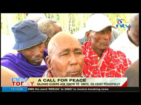 Kajiado elders ask youth to unite and co-exist peacfully