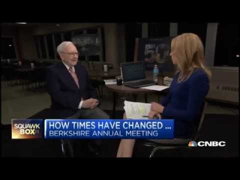 Warren Buffett At 2015 Berkshire Hathaway Annual Meeting