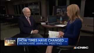 Warren Buffett At 2015 Berkshire Hathaway Annual Meeting