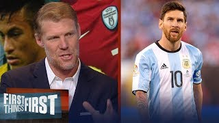 Alexi Lalas on how the 2018 FIFA World Cup could change Messi's legacy | SOCCER | FIRST THINGS FIRST