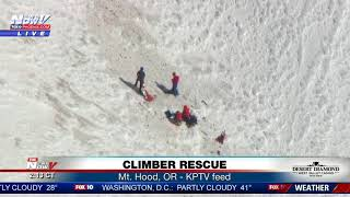CLIMBER RESCUE: Search and rescue crews respond to Mount Hood (FNN)