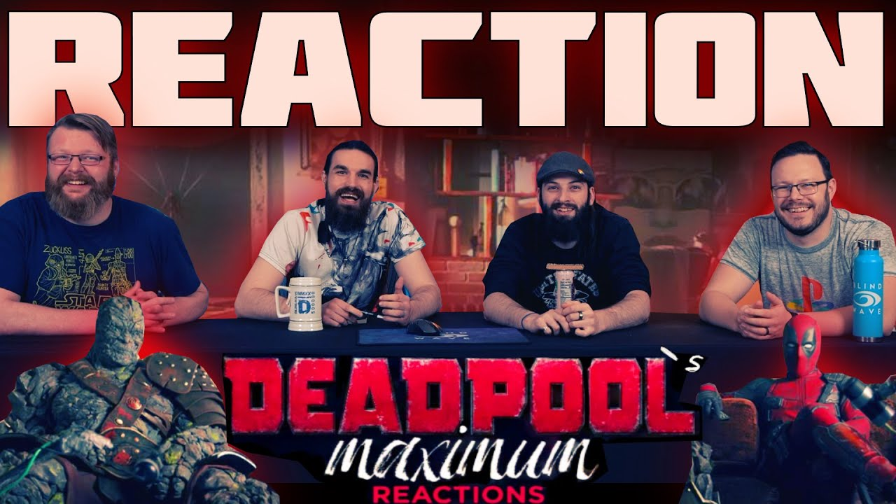 Download Deadpool and Korg React - Free Guy Trailer REACTION!!
