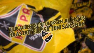 KalPan tilikauden 2018-2019 tuloksen julkistus - haastattelussa Toni Saksman