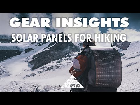 Powering a 10,000-km thru-hike with solar panels - POWERFILM