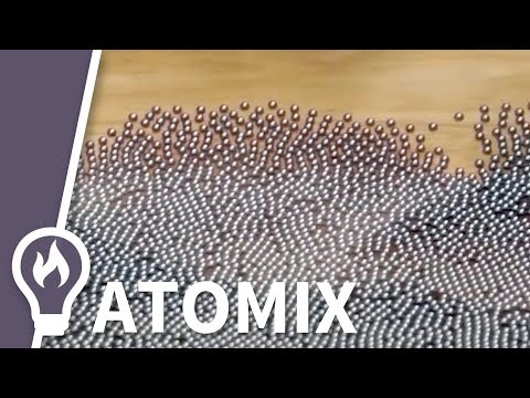 3000 ball bearings show crystal defects with Matt Parker