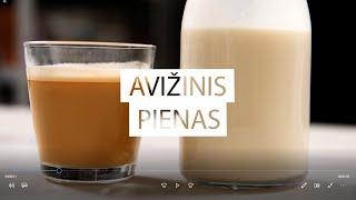 SKONIO IŠŠŪKIS| Avižų pienas | 2020