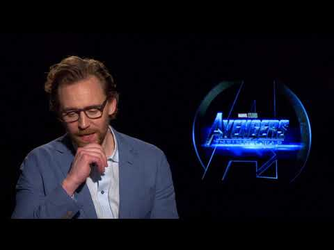 "Avengers: Infinity War: Tom Hiddleston ""Loki"" Official Movie Interview"