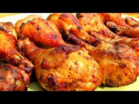 Zesty Marinated Grilled Chicken Legs - BBQ Chicken Recipe