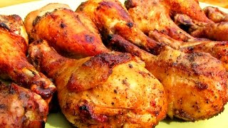 Zesty Marinated Grilled Chicken Legs - Bbq Chicken Recipe