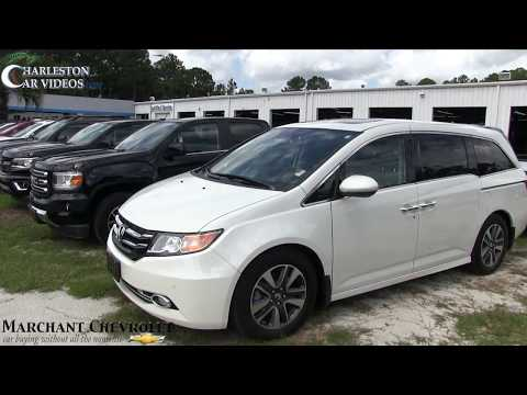 2015 HONDA Odyssey Touring Elite   For Sale Review & Condition Report at Marchant Chevy Sept 2017
