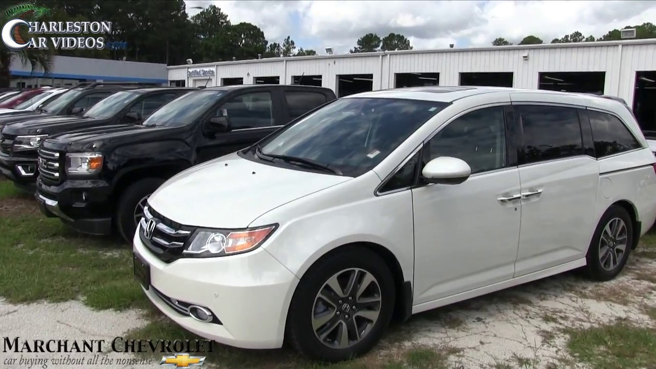 2015 honda odyssey touring elite for sale review condition report at marchant chevy sept. Black Bedroom Furniture Sets. Home Design Ideas