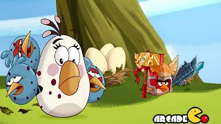 Angry Birds Epic: Final Cave 7 Forgotten Bastion Level 4 Gold Piggies