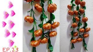 Cover images DIY  ผลส้ม ตามจินตนาการ  |  งาน ประดิษฐ์ |  น้องน้ำ&แม่จา