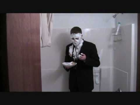 Black suit, white shirt, silver tie - YouTube