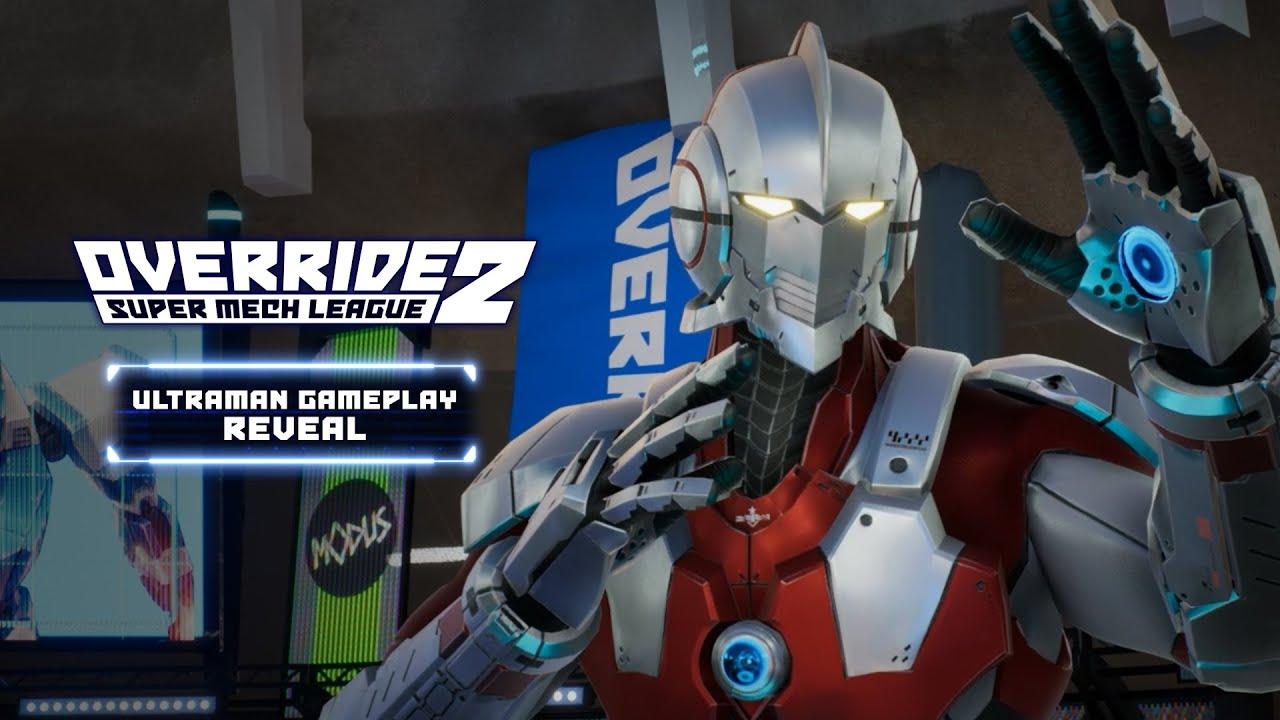Override 2: Super Mech League - Ultraman Gameplay Trailer - Gematsu