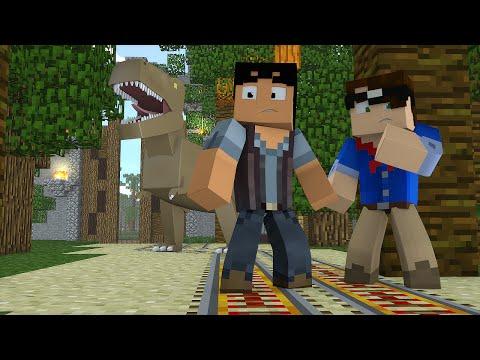 Minecraft: TRABALHANDO NO JURASSIC WORLD! (Mudando de Vida #4)