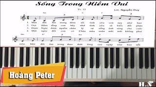 Hướng dẫn đệm piano: Sống Trong Niềm Vui - by Hoàng Peter