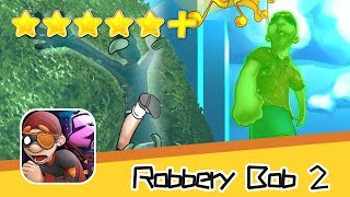 Robbery Bob 2 Chapter 1 Level 15 17 Green Screen Bob Walkthrough New Game Plus Recommend index five