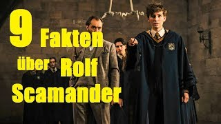 9 FAKTEN über Rolf SCAMANDER
