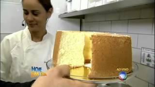 Direto da padaria: Edu mostra como fazer um bolo caseiro tradicional #Receitas