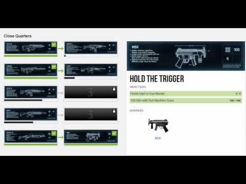 Battlefield 3 | How to Unlock M5K & SPAS-12 | Close Quarters Assignments