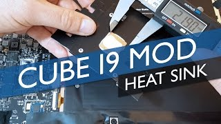 cube i9 Simple Copper Heat Sink Mod (Lowers Max Temps 20 Degrees)