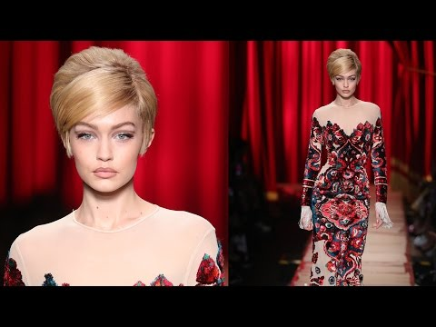Gigi Hadid STUMBLES On Runway At Milan Fashion Week But Recovers Like A Pro