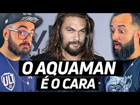 JASON MOMOA: O Aquaman é o cara!!!!   REACT MHM