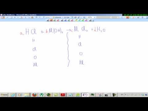 REACCIÓN QUÍMICA (1). CÁLCULOS CON MASAS Y MOLES EN UNA REACCIÓN QUÍMICA. ESTEQUIOMETRIA from YouTube · Duration:  9 minutes 27 seconds