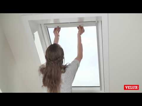 Pick Click Installation Of Velux Blackout Blinds