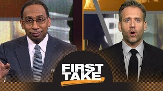 Stephen A. and Max debate if Rockets or Warriors will get No. 1 seed in West | First Take | ESPN thumbnail