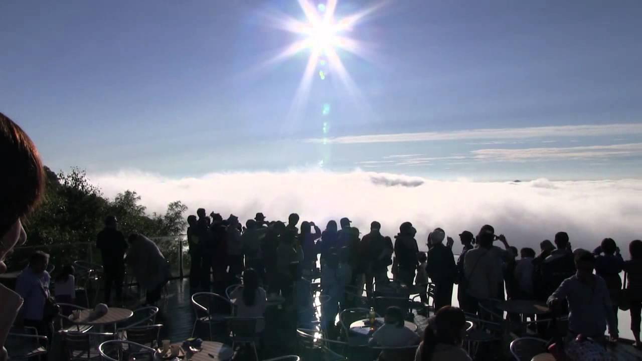 トマムの雲海テラス - YouTube
