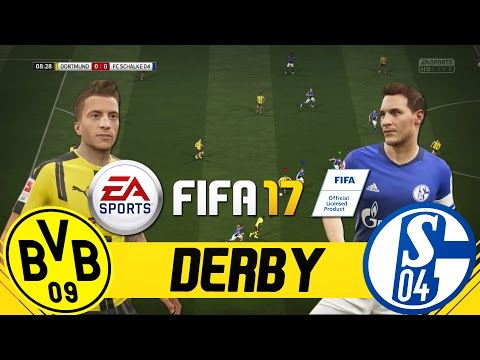 FIFA 17 BORUSSIA DORTMUND VS SCHALKE 04 - FULL GAMEPLAY PMTV