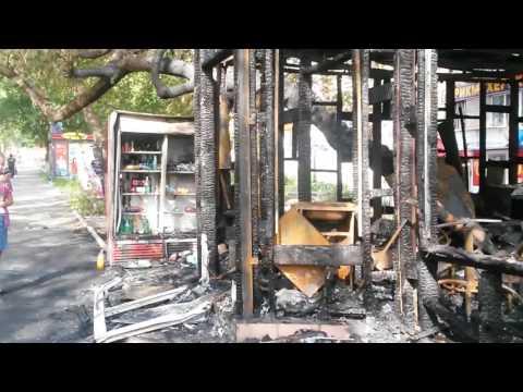 Взрыв газового баллона уничтожил кафе в центре Саранска
