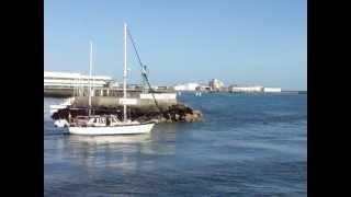 Cherbourg le retour de peche.MPG