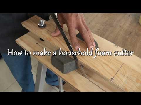 A Homemade Foam Cutter