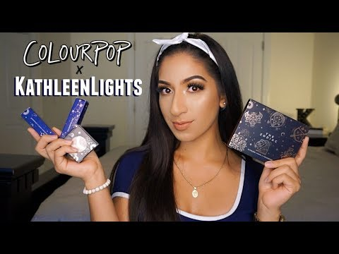 Colourpop x KATHLEENLIGHTS ZODIAC COLLECTION | Review, Tutorial and SWATCHES thumbnail