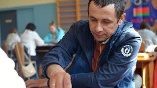 Pinsk 2016. European Draughts Disabilities Championship. Breakfast, mandate, lunch, round 1, dinner