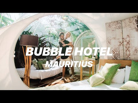 $600 HOTEL ROOM in the Jungle of Mauritius - Bubble Lodge