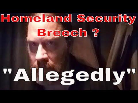 Alleged Homeland Security Bldg Breech CDL Truck Driver | Red Viking Trucker | RVTGear.com