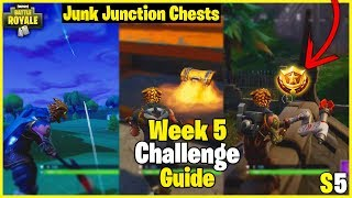 Snobby Shores Treasure Map + Tee To Green | S5 Week 5 Challenge Guide - Fortnite