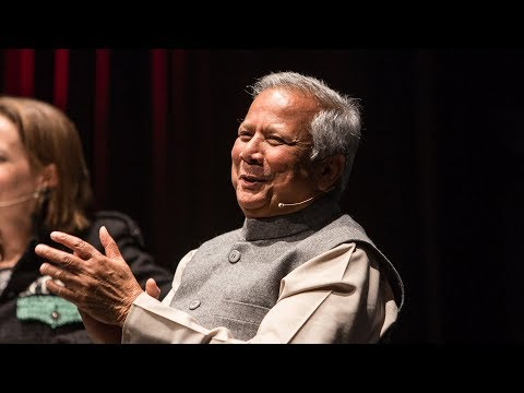 Muhammad Yunus on a New Kind of Capitalism
