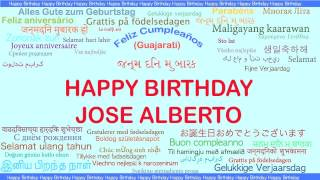 JoseAlberto   Languages Idiomas - Happy Birthday