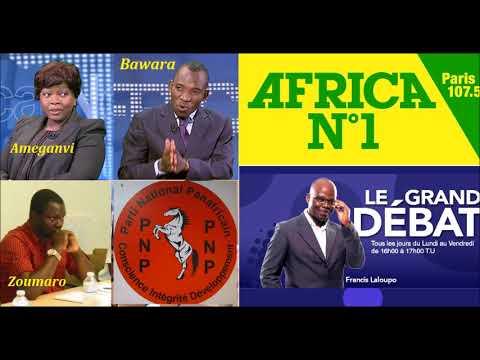 Le Grand Débat sur Africa N*1: Invités: Bawara(UNIR), B. Amengavi(ST), Zoumaro(ANC), Tchatikpi(PNP)