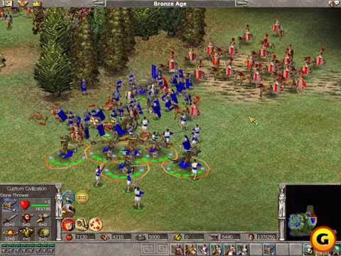 Shape History in Real Time with Empire Earth