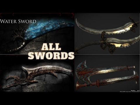 Prince of Persia - Warrior Within - All Swords + Water Sword |