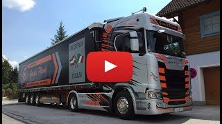 Scania S580 CS20HD V8 Showtruck Gerald Plank Transporte - Lkw-Thorsten TV