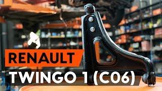 Ako vymeniť predné rameno zavesenia kolies na RENAULT TWINGO 1 (C06) [NÁVOD AUTODOC]