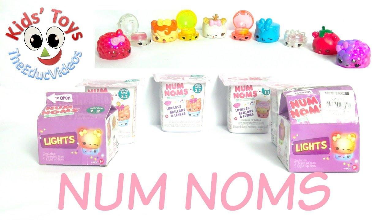 Num Noms Mini Toys